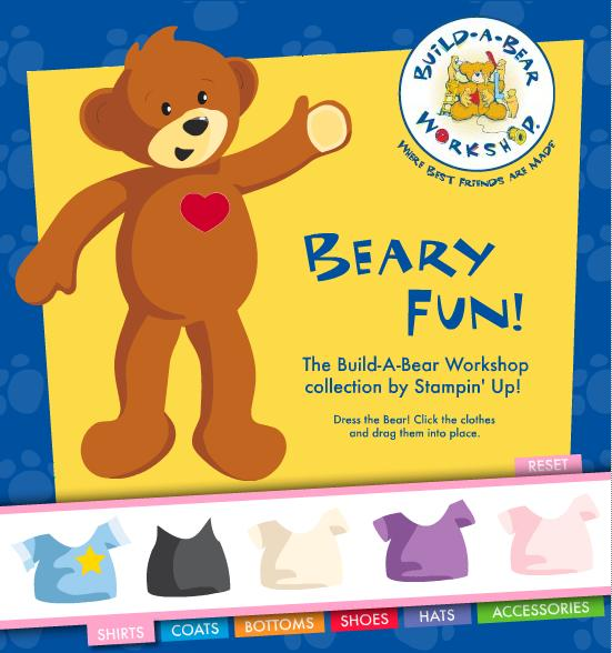 Dress the Bear - Interactive Fun!